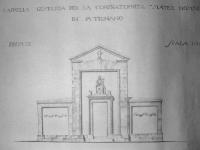 Cappella Mater Domini progetto