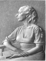 Ritratto di donna seduta con libro