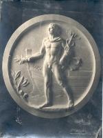 Bassorilievo allegoria maschile