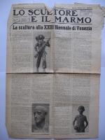 1942_7 settembre Lo scultore e il marmo Milano pag.1