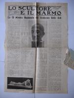 1941_ 21 luglio Lo Scultore e il marmo Milano pag.1